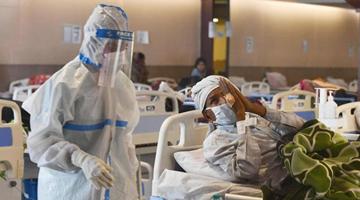 中国驻印度大使:中国坚定支持印度抗击疫情