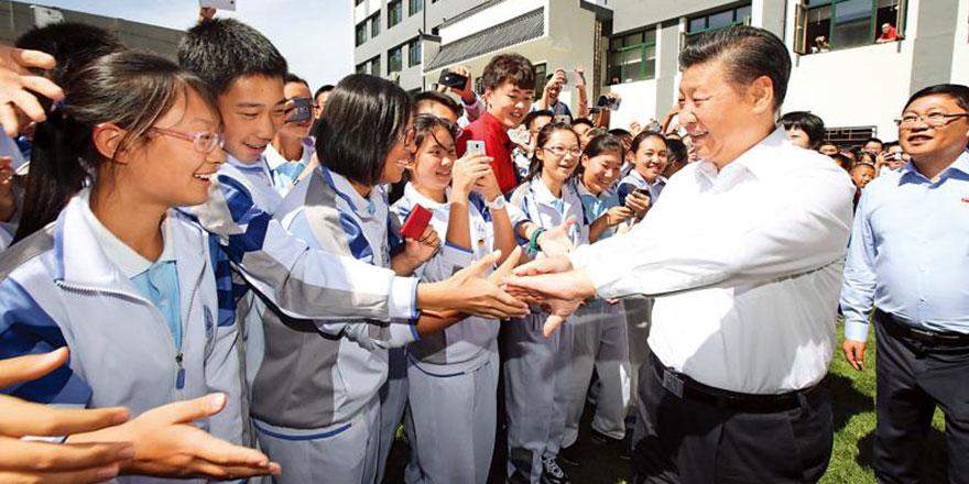 谈梦想论志向说信仰 习近平引领青年为国奋斗成就理想