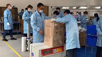 中国工人加班造制氧机 印度高管临阵脱逃赴英