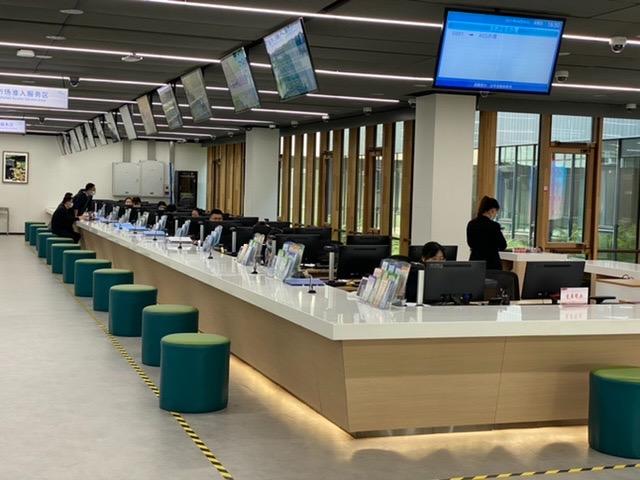 雄安新区市民服务中心成为对外开放的窗口