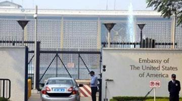 美国国务院批准在印美国政府雇员可自愿离开印度