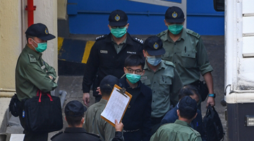 涉维园非法集结 黄之锋被判10个月