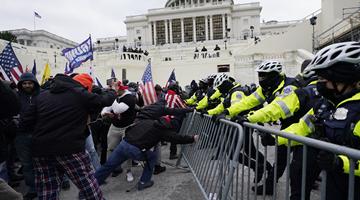 FBI已逮捕440多名冲击国会嫌疑人