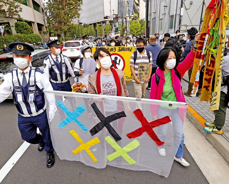 三天增近兩萬宗 日本民眾籲停辦奧運