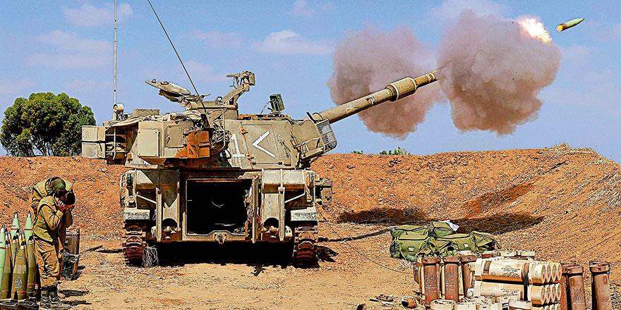 以色列边境囤兵7000 巴以战争一触即发