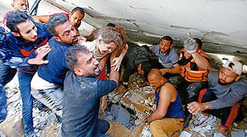 以军空袭民宅巴孩童葬身废墟 美国多次阻止联合国斡旋