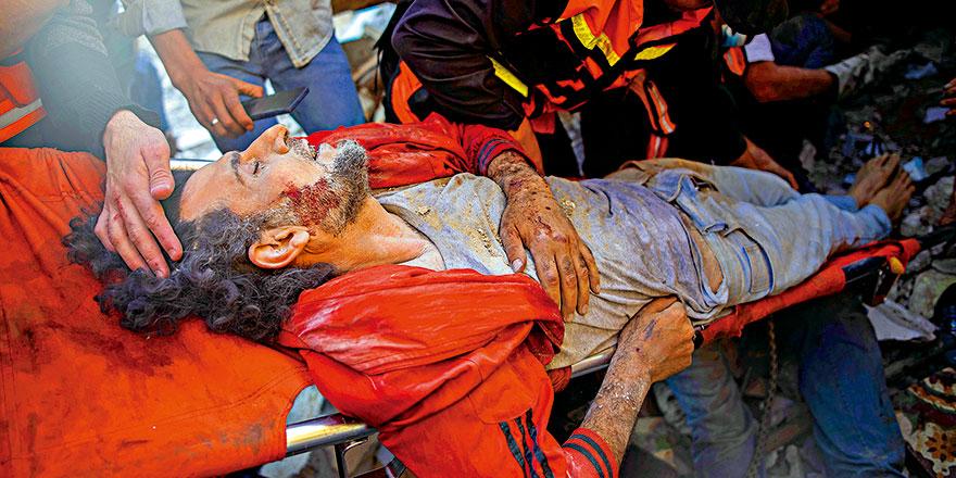 以巴冲突8天致超过200人死 加沙近百妇孺遇难