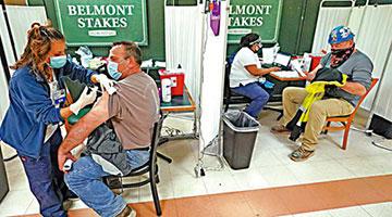 五成民众已打针全美疫情趋缓 新增病例创一年新低