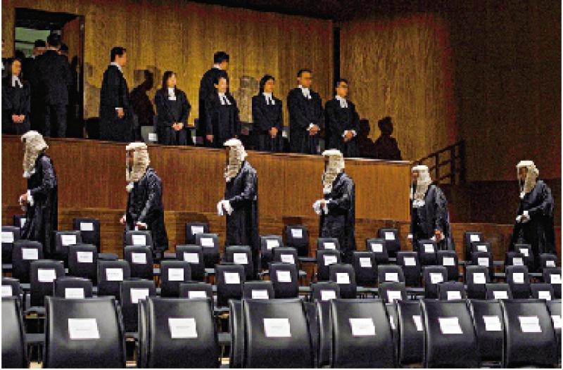 ?律政司倡律政人員可任資深大律師
