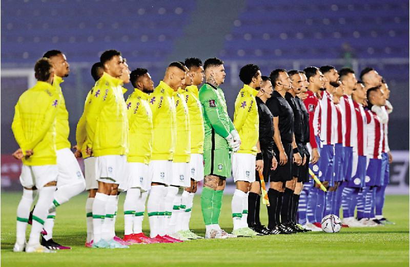 巴西世盃外六战全胜