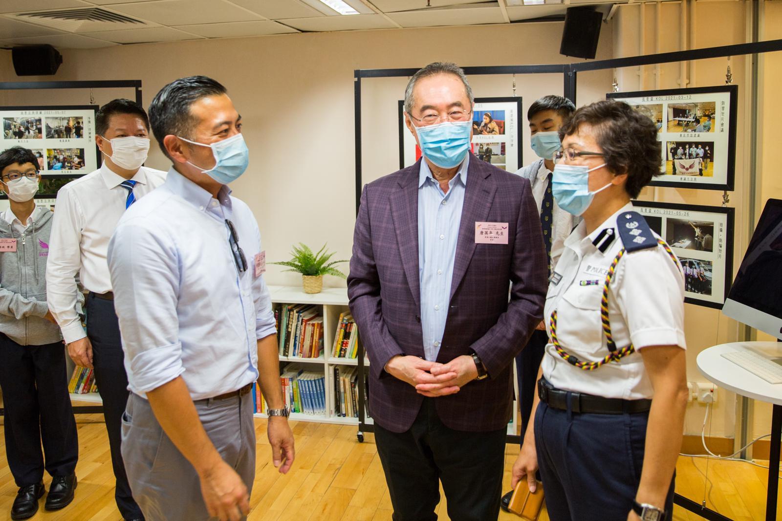 香港江蘇社團總會與西區少年警訊合作Project TEENS計劃