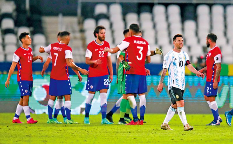 美斯罚球建功 阿根廷仍失分