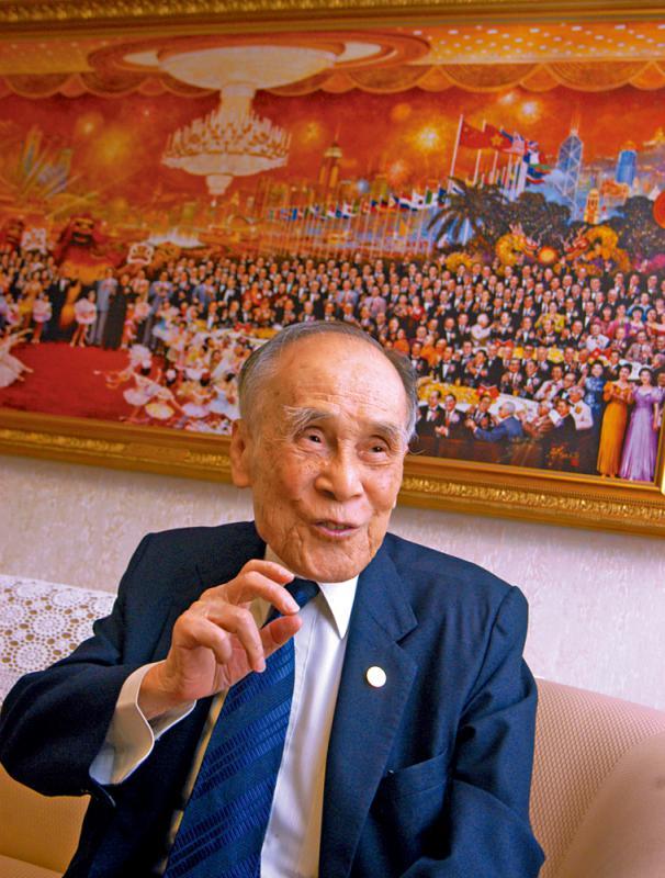 ?他帶頭在香港升起五星紅旗\大公報記者 常彧璠(文) 凱楊(圖)