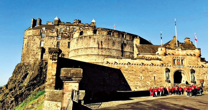 閒話煙雨/愛丁堡城堡
