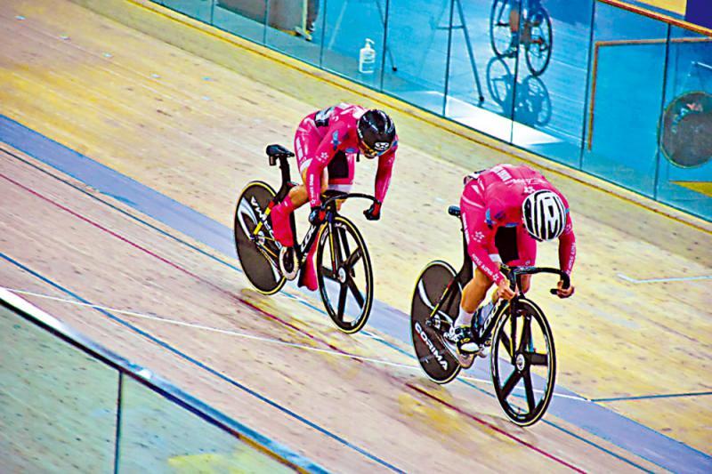 港单车队进行奥运模拟赛