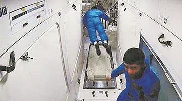 """揭秘航天员的""""太空厨房""""和""""太空医院""""长啥样"""