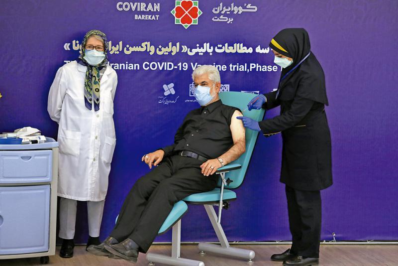 ?伊朗紧急批准采用国产疫苗