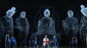 原创大型沪剧《敦煌女儿》在国家大剧院上演