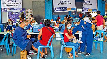 菲律宾总统警告国民:要么去打疫苗,要么就坐监