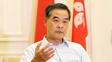 梁振英:苹果日报是新闻界之耻香港之耻文人之耻