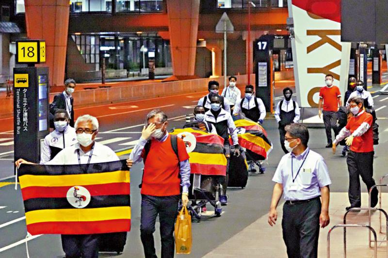 ?东奥乌干达代表团 一人隔离期间确诊
