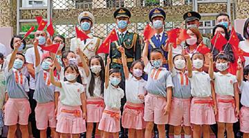 香港青年代表:把握湾区机遇 迎来国家高速发展