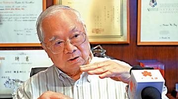胡应湘:为国家富强出一分力 深感满足