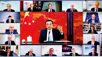 李克强:中英关系稳定有助世界经济复苏