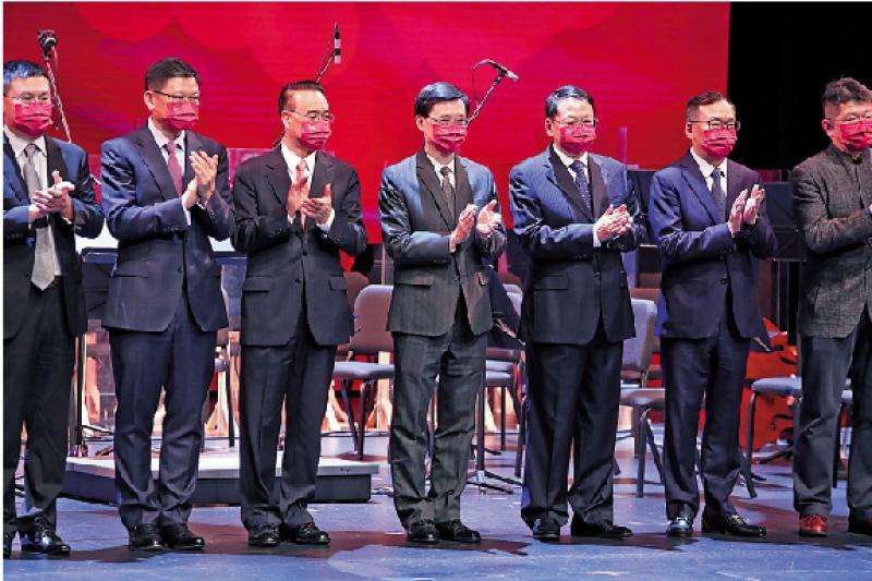 中企协30周年汇演洋溢爱国情