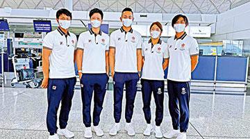 香港滑浪风帆代表队率先赴日本备战东京奥运会