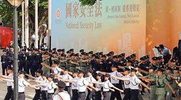 市民齐撑香港国安法 政界人士:乐见香港恢复安宁