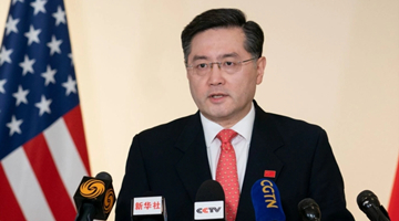 美副国务卿舍曼将会晤中国驻美大使秦刚
