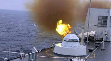 美战舰频繁进出南海 解放军一连三日南海练兵
