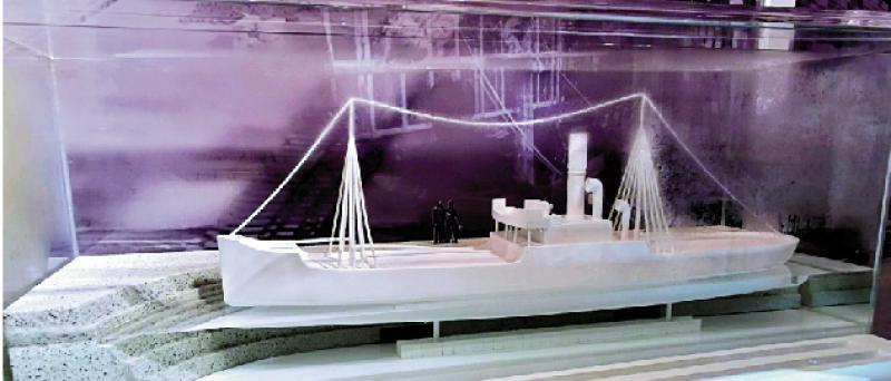 船只检修过程展示