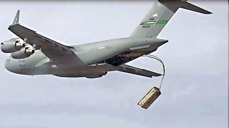 """外军动向/美""""速龙""""计划 评测运输机投弹能力"""