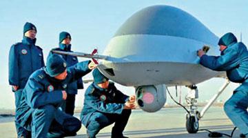 海空两军人机巡航西太平洋地区 双尾蠍长鹰共舞