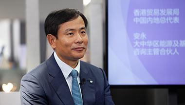 """安永朱亚明:""""一带一路""""建设香港优势明显"""