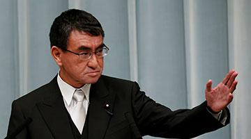 菅义伟有意支持河野太郎竞选日本自民党总裁