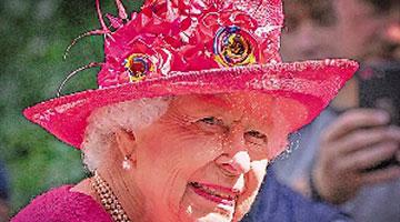 """美媒曝光英女王驾崩应对方案密件""""伦敦桥行动"""""""