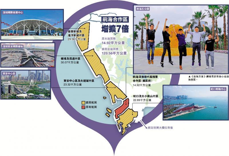 中央支持香港发展 前海合作区扩七倍