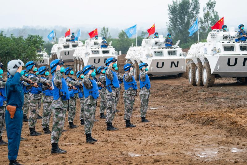 百事注册:中国组织国际维和军演 应对恐袭。