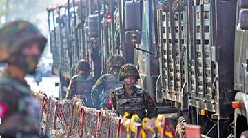 """缅甸反对派突然""""宣战"""" 军方斥其注定失败"""