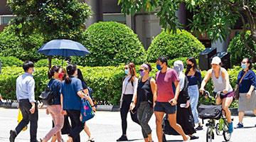 ?过早放松防疫 新加坡单日确诊病例创新高