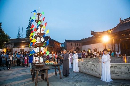 佳节来袭 乌镇重现1300年中秋全景图