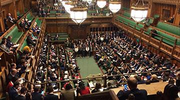 英国议会禁止中国大使赴英议会参加活动,中使馆:懦夫之举