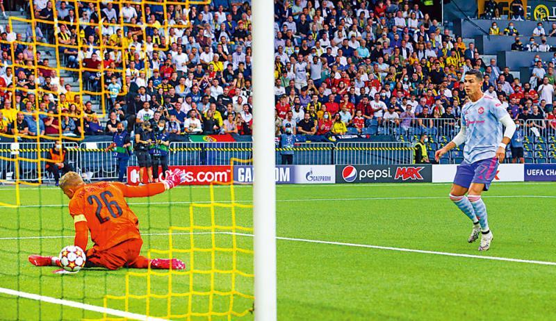C朗平欧联上阵次数最多纪录