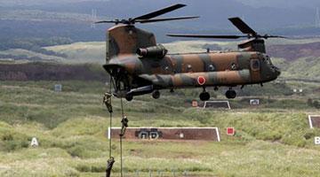 日本陆上自卫队举行28年来最大规模军事演习 10万人参演