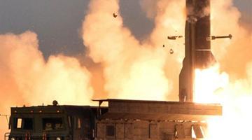 外媒:朝鲜试射铁道机动导弹击中800公里外目标