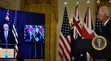 """拜登疑忘记澳总理名字 称莫里森为""""澳洲这家伙"""""""