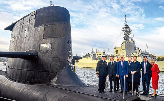 """美英背信弃义帮澳洲建核潜艇 法国斥""""背后捅刀"""""""